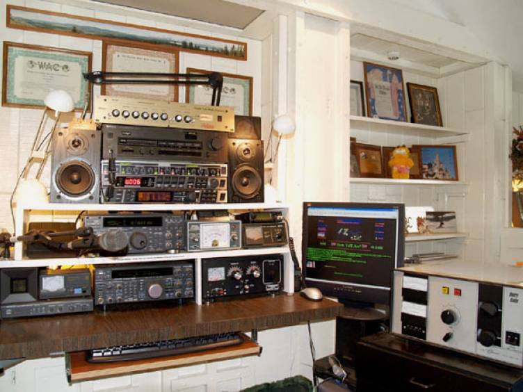 The old Voodoo Audio Station of NA1A!